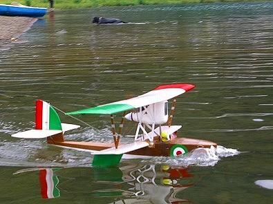 2006年8月23日 西湖での水上機飛...